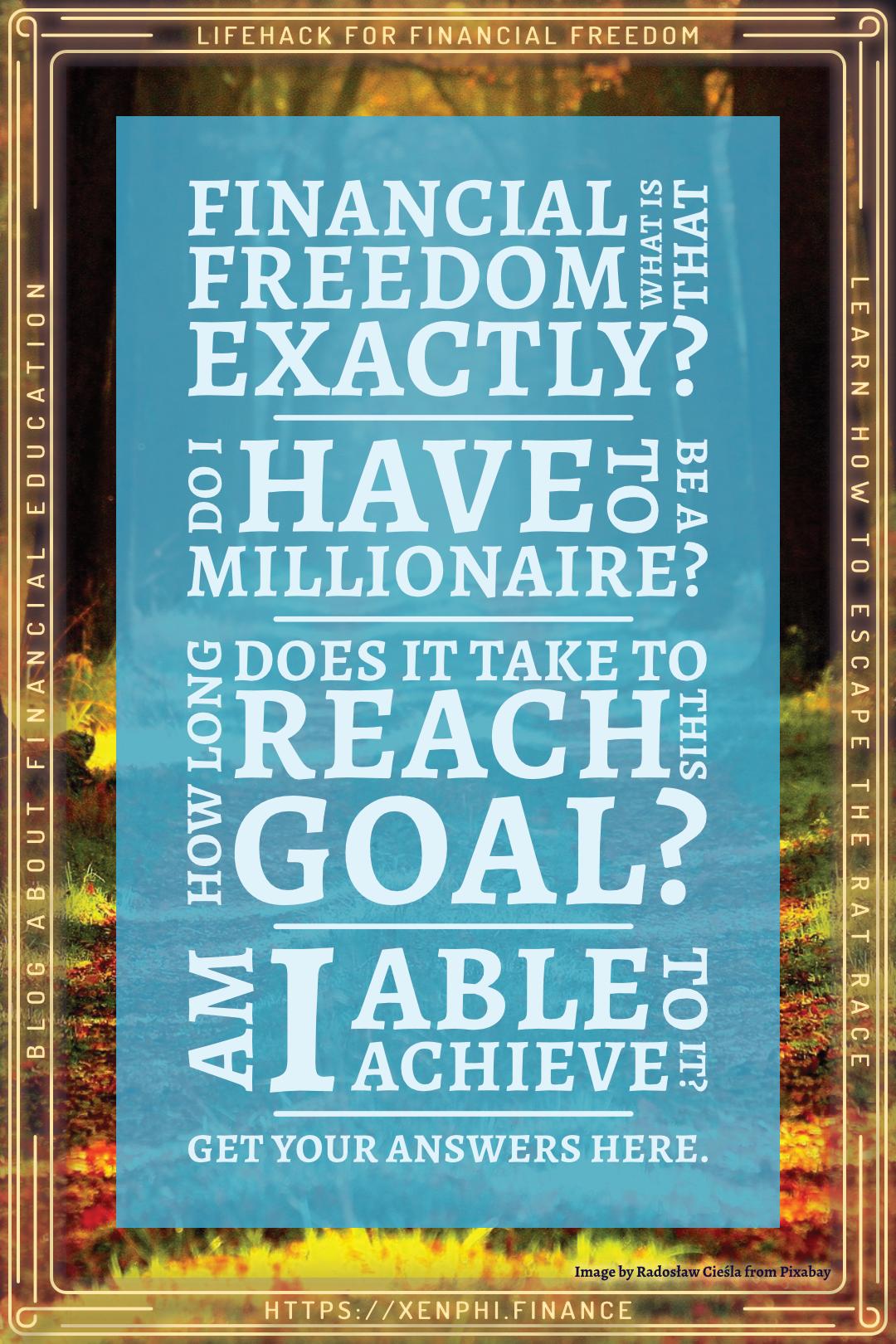 Read more about the article Finanzielle Freiheit – was ist das überhaupt?
