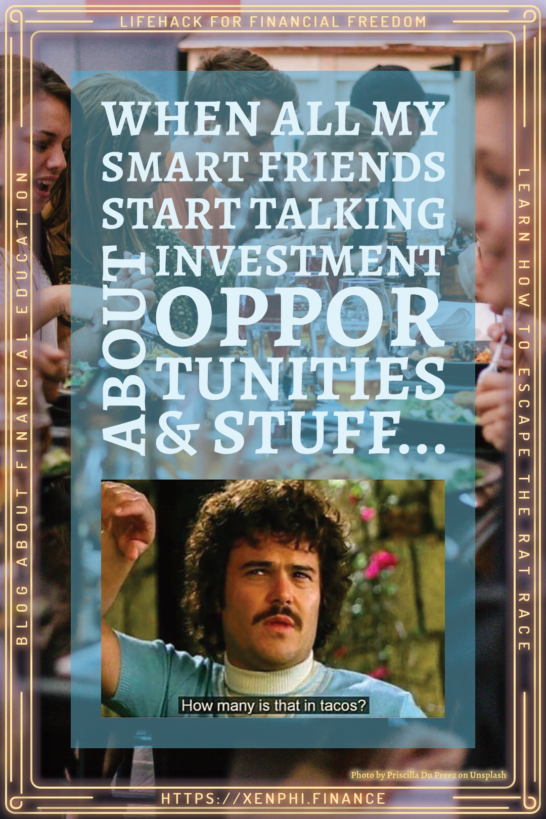 Read more about the article When My Smart Friends Talk About Investing…
